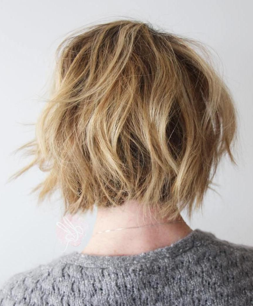 30 Trendiest Shaggy Bob Haircuts Of The Season | Shaggy Bob Intended For Shaggy Blonde Bob Hairstyles With Bangs (View 1 of 20)