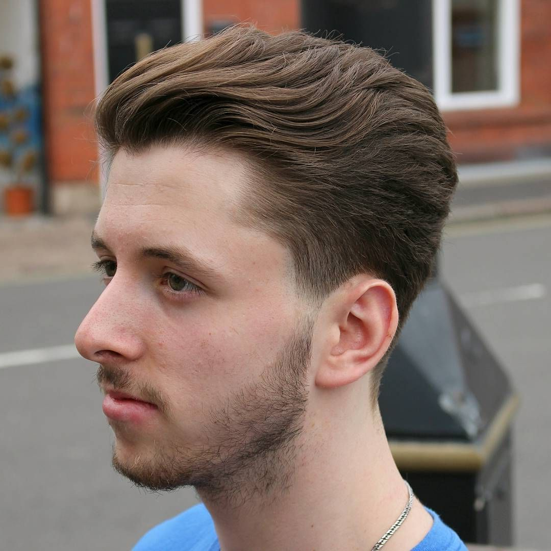 32 Most Dynamic Taper Haircuts For Men – Haircuts Intended For Pixie Haircuts With Tapered Sideburns (View 7 of 20)