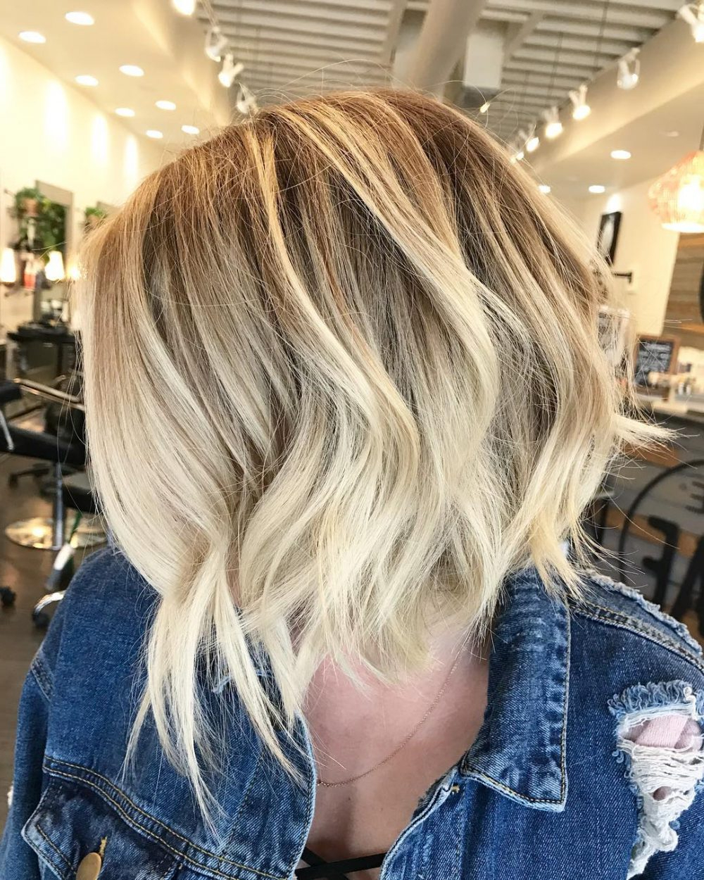 34 Best Choppy Layered Hairstyles (that Will Flatter Anyone) For Razored Two Layer Bob Hairstyles For Thick Hair (View 13 of 20)