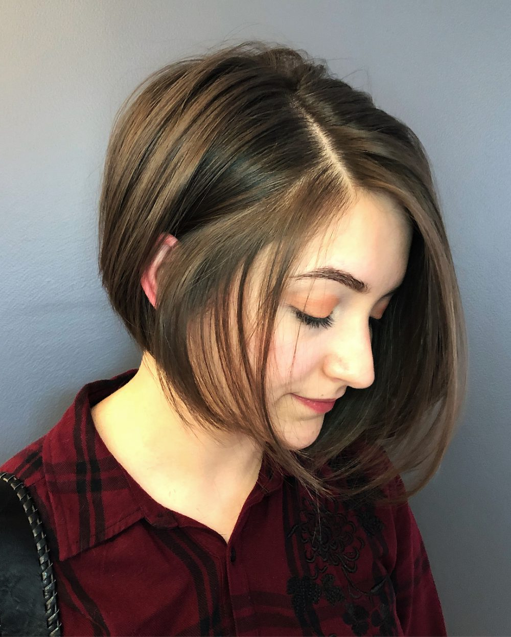 34 Most Flattering Short Hairstyles For Round Faces Pertaining To Color Highlights Short Hairstyles For Round Face Types (View 3 of 20)
