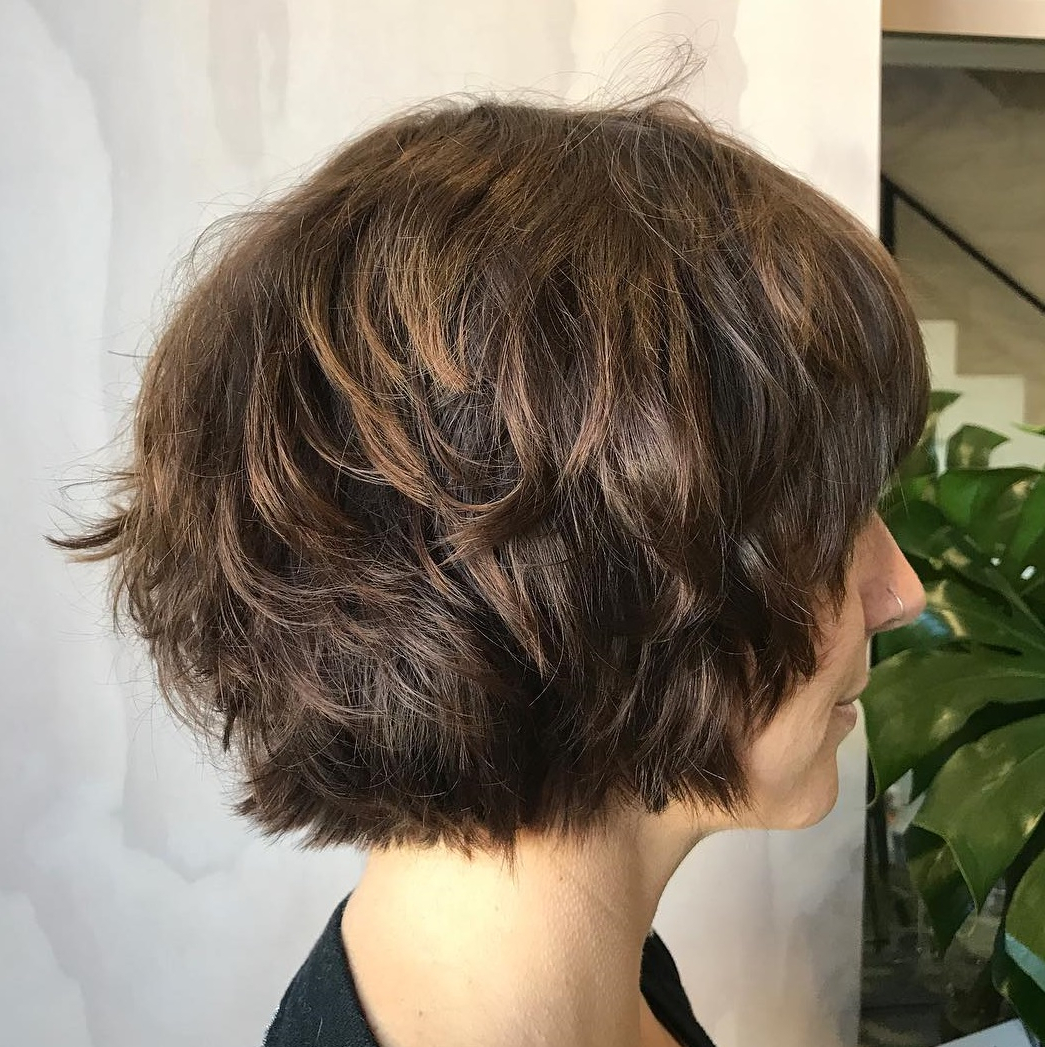 35 Cute Short Bob Haircuts Everyone Will Be Obsessed With In Throughout Short Bob Hairstyles With Textured Waves (View 8 of 20)