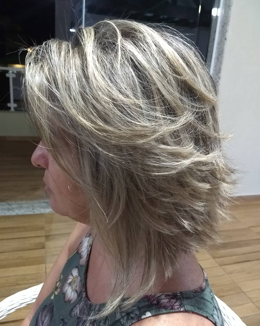 35 Killer Ways To Work Long Bob Haircuts For 2019 Regarding Layered Haircuts With Delicate Feathers (View 14 of 20)