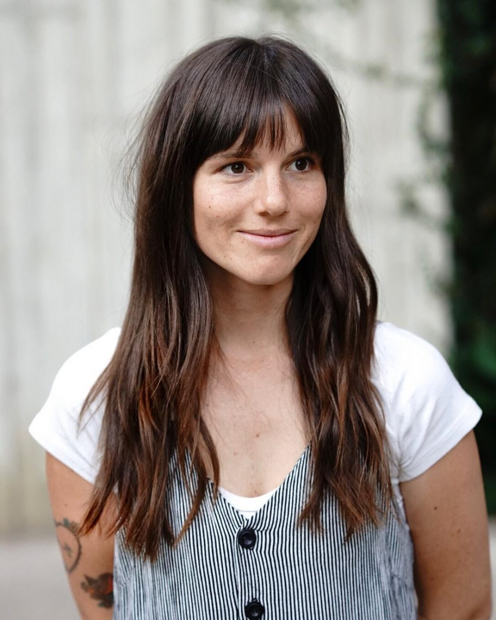 37 Hottest Fringe Bangs Trending In 2019 With Most Recent Perfect Bangs And Wild Layers Hairstyles (View 5 of 20)
