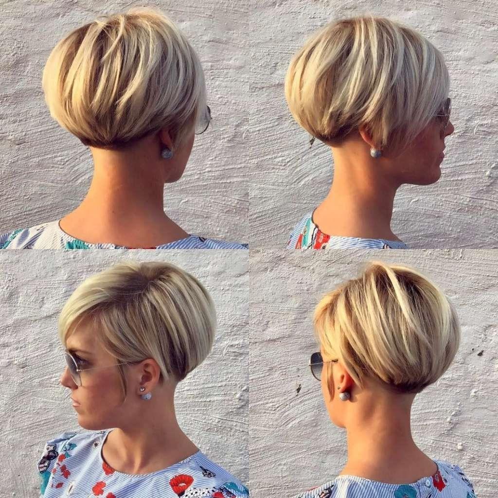 38 Trendy Inverted Short Bob Haircuts – Short Bob Cuts With Regard To Short Sliced Inverted Bob Hairstyles (Gallery 20 of 20)