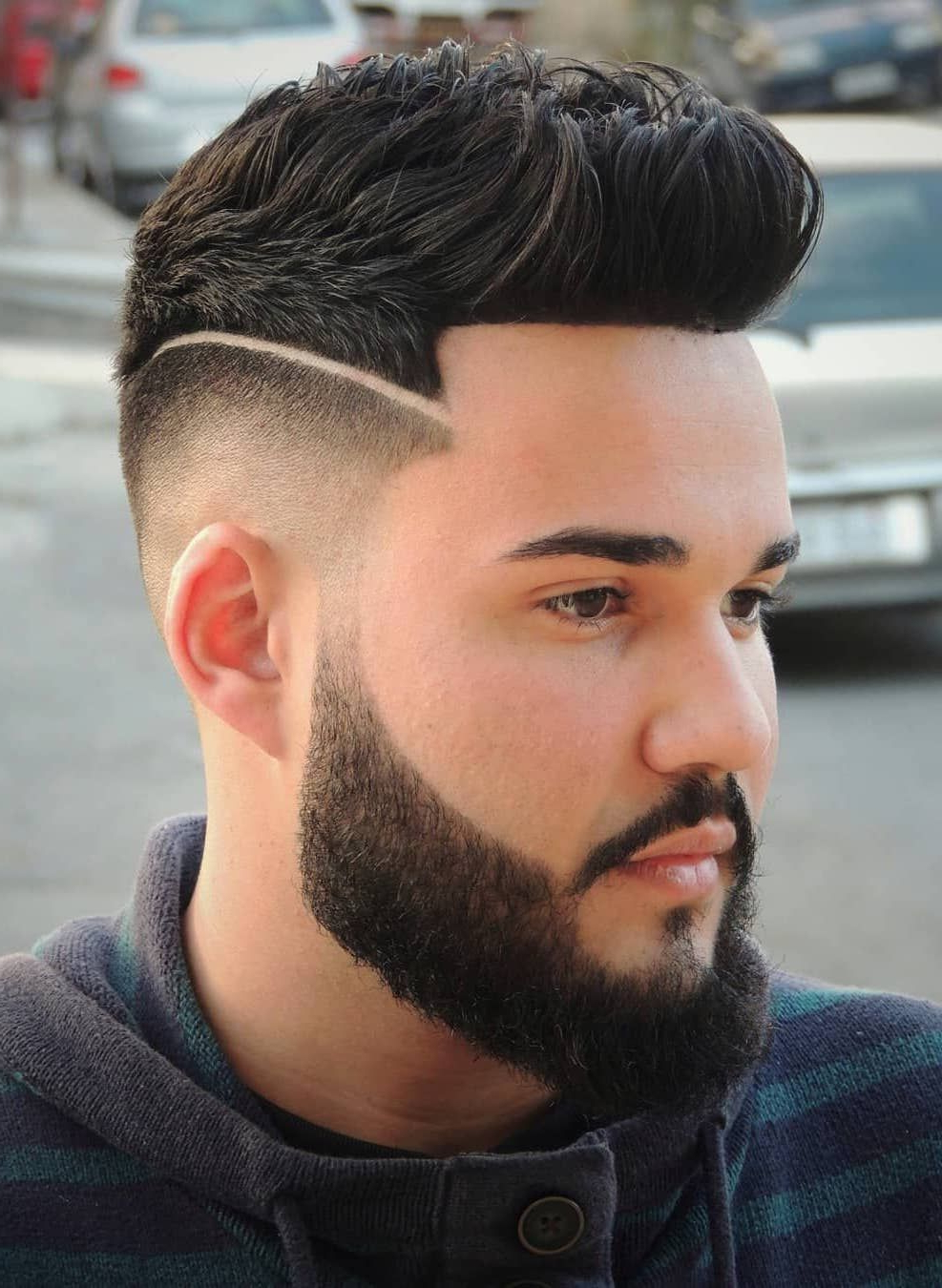 40 Brilliant Disconnected Undercut Examples + How To Guide Within Brushed Back Hairstyles For Round Face Types (View 10 of 20)