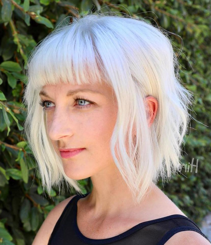 40 Modern Shag Haircuts For Women To Make A Splash In Silver White Shaggy Haircuts (View 16 of 20)