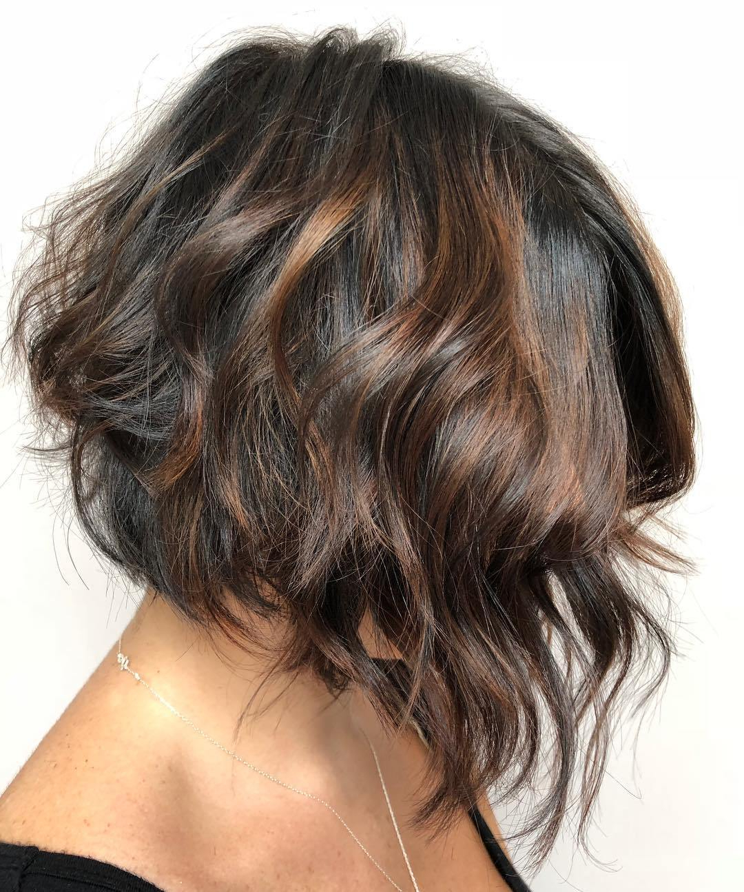 40 Short Hairstyles For Thick Hair (trendy In 2019 2020 Regarding Golden Bronde Bob Hairstyles With Piecey Layers (View 12 of 20)