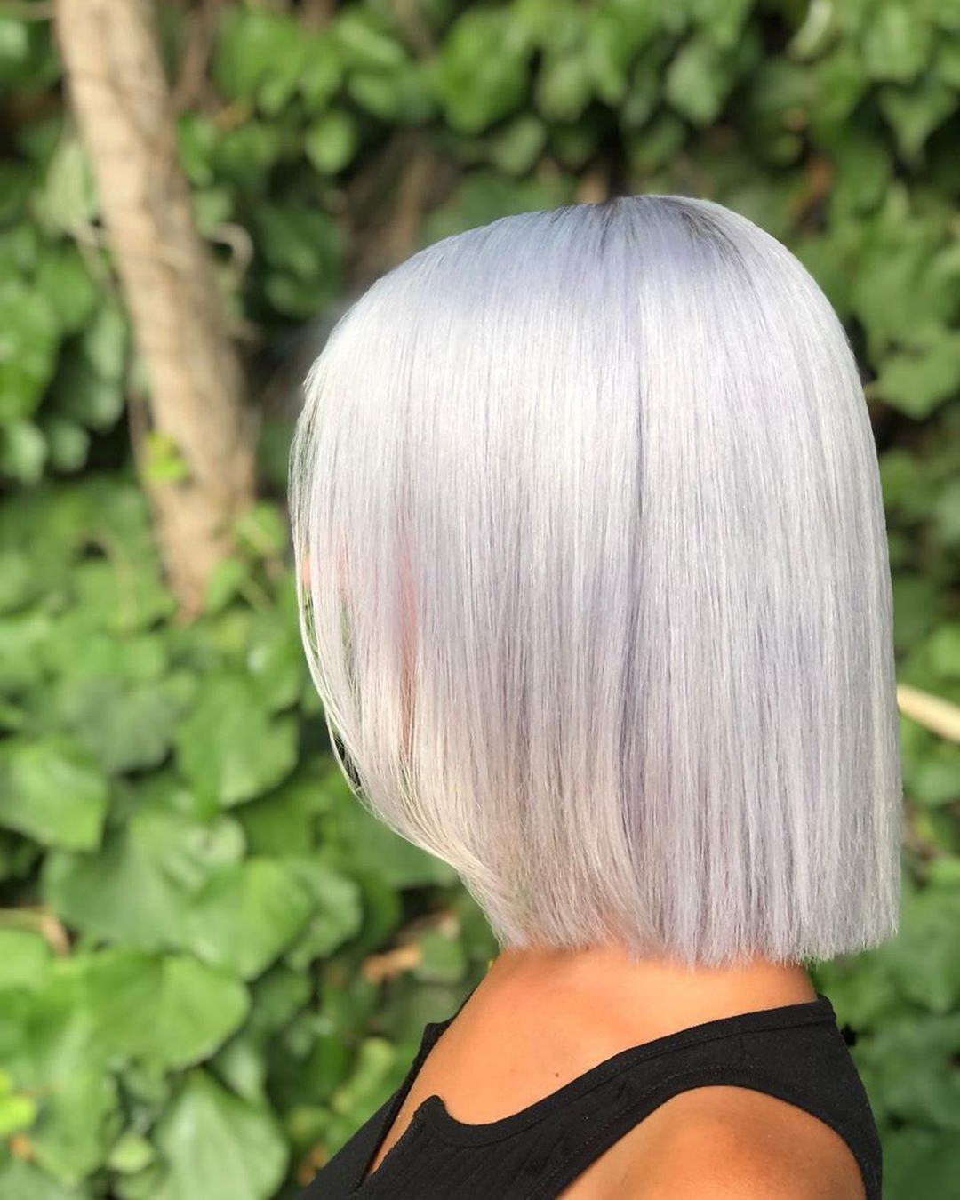 40+ Silver Hair Color Ideas & 2019 Trends: Highlights Intended For Dusty Lavender Short Shag Haircuts (View 7 of 20)