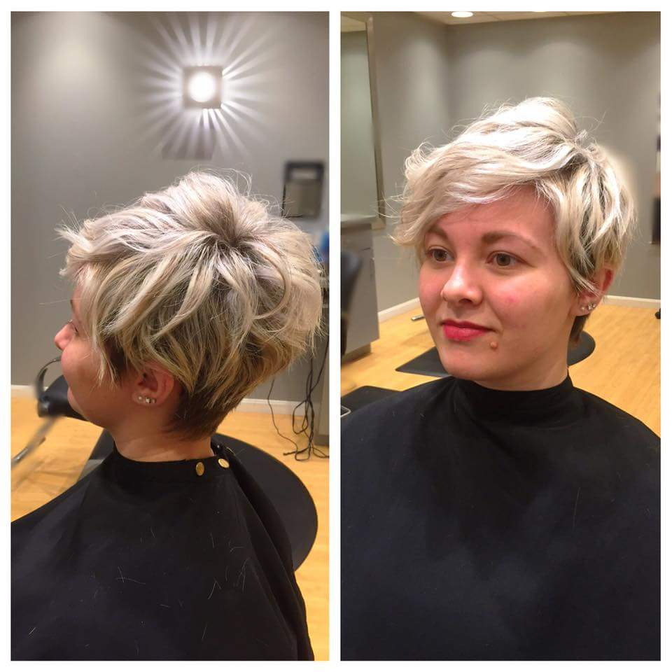 40+ Smart Pixie Haircuts Which Will Convince You To Chop Throughout Long Pixie Haircuts With Sharp Layers And Highlights (View 9 of 20)