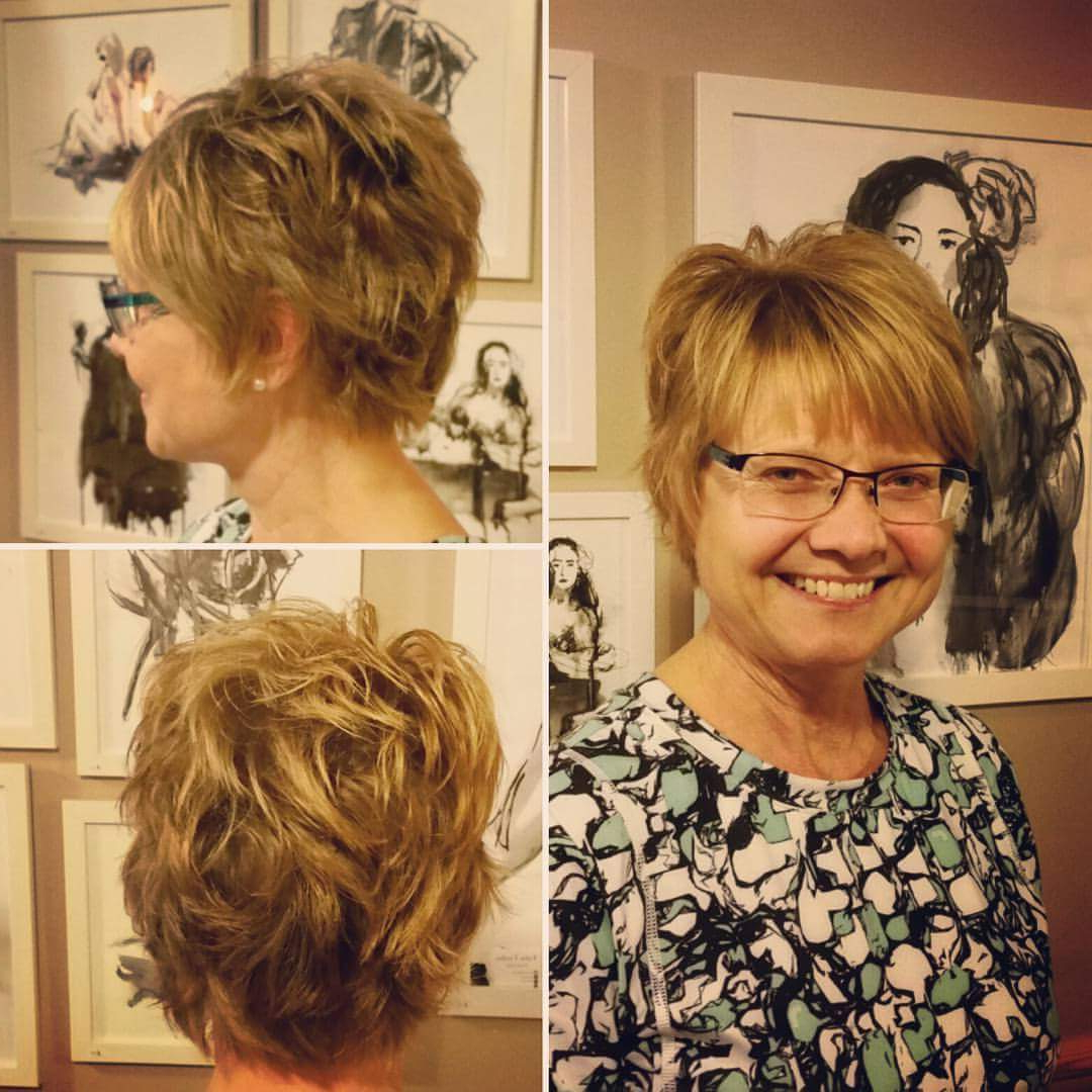 40+ Smart Pixie Haircuts Which Will Convince You To Chop Within Messy Curly Blonde Pixie Bob Haircuts (View 18 of 20)