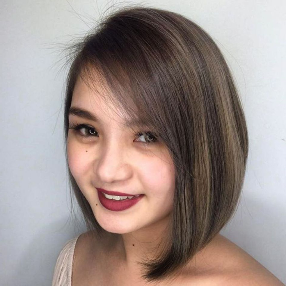 40 Stylish And Sassy Bobs For Round Faces In 2019 | Bob Throughout A Line Haircuts For A Round Face (View 2 of 20)