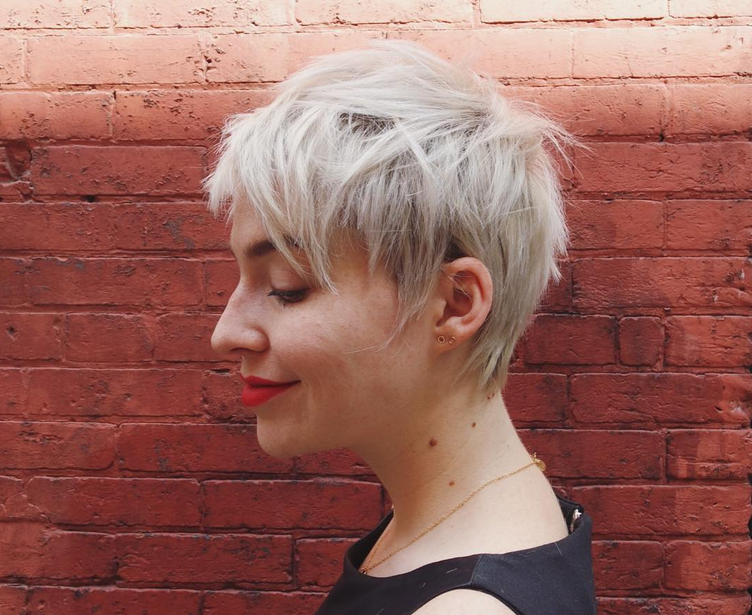 45 Playful Ideas For Short Shag Haircuts – Change The Things Up Regarding Short Shag Haircuts With Purple Highlights (View 7 of 20)