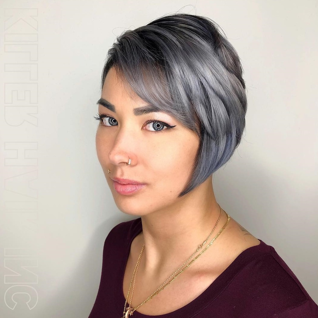 45 Short Hairstyles For Fine Hair To Rock In 2019 Regarding Choppy Pixie Bob Hairstyles For Fine Hair (View 5 of 20)