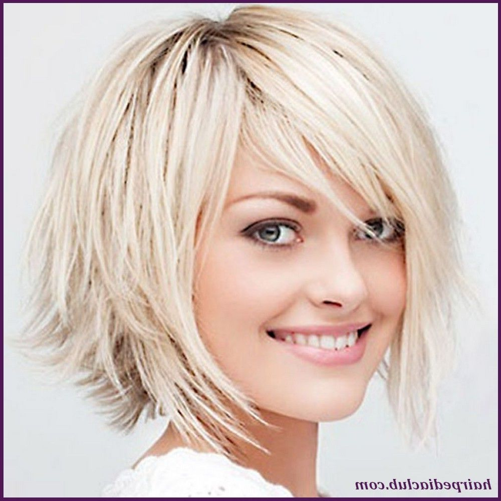 5 Short Haircuts For Thick Hair And Round Faces – Hairstyles For Layered Short Hairstyles For Round Faces (View 7 of 20)