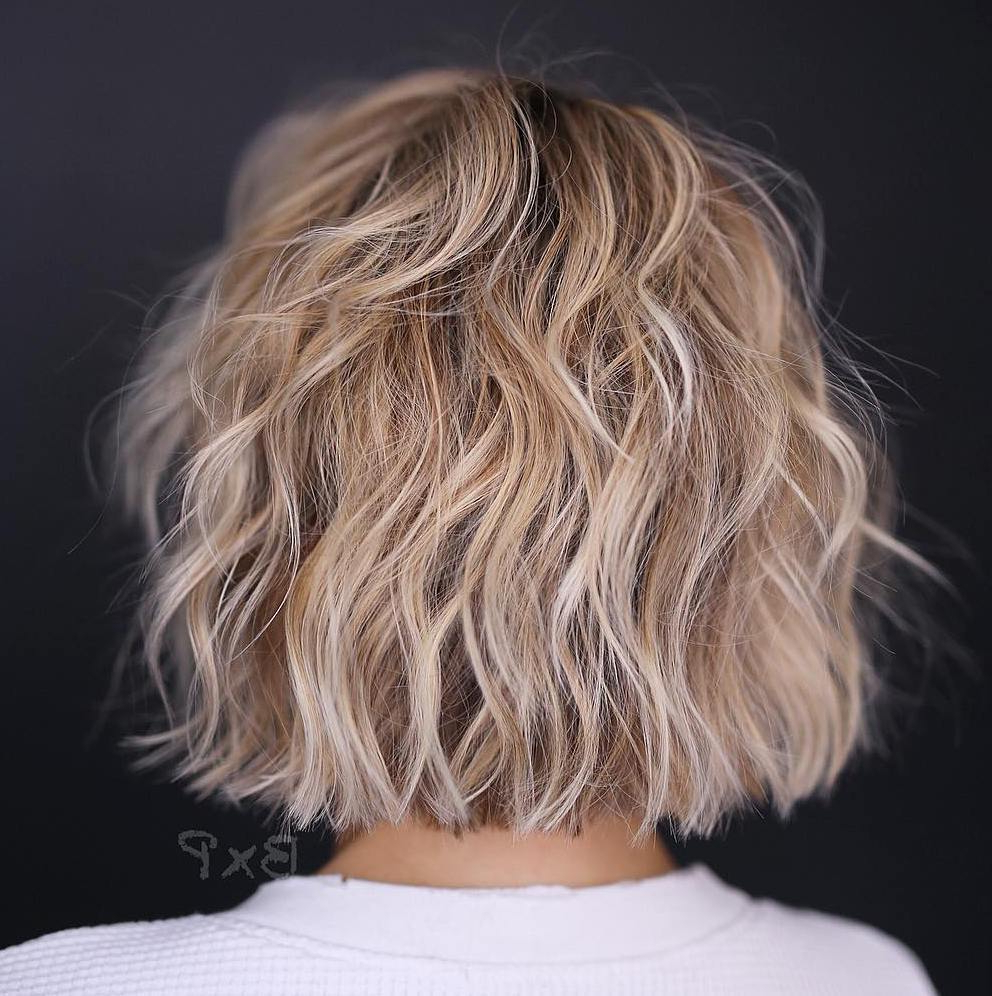 50 Best Short Haircuts And Hairstyles For Fine Hair – Hair Regarding Bronde Bob Shag Haircuts With Short Back (View 5 of 20)