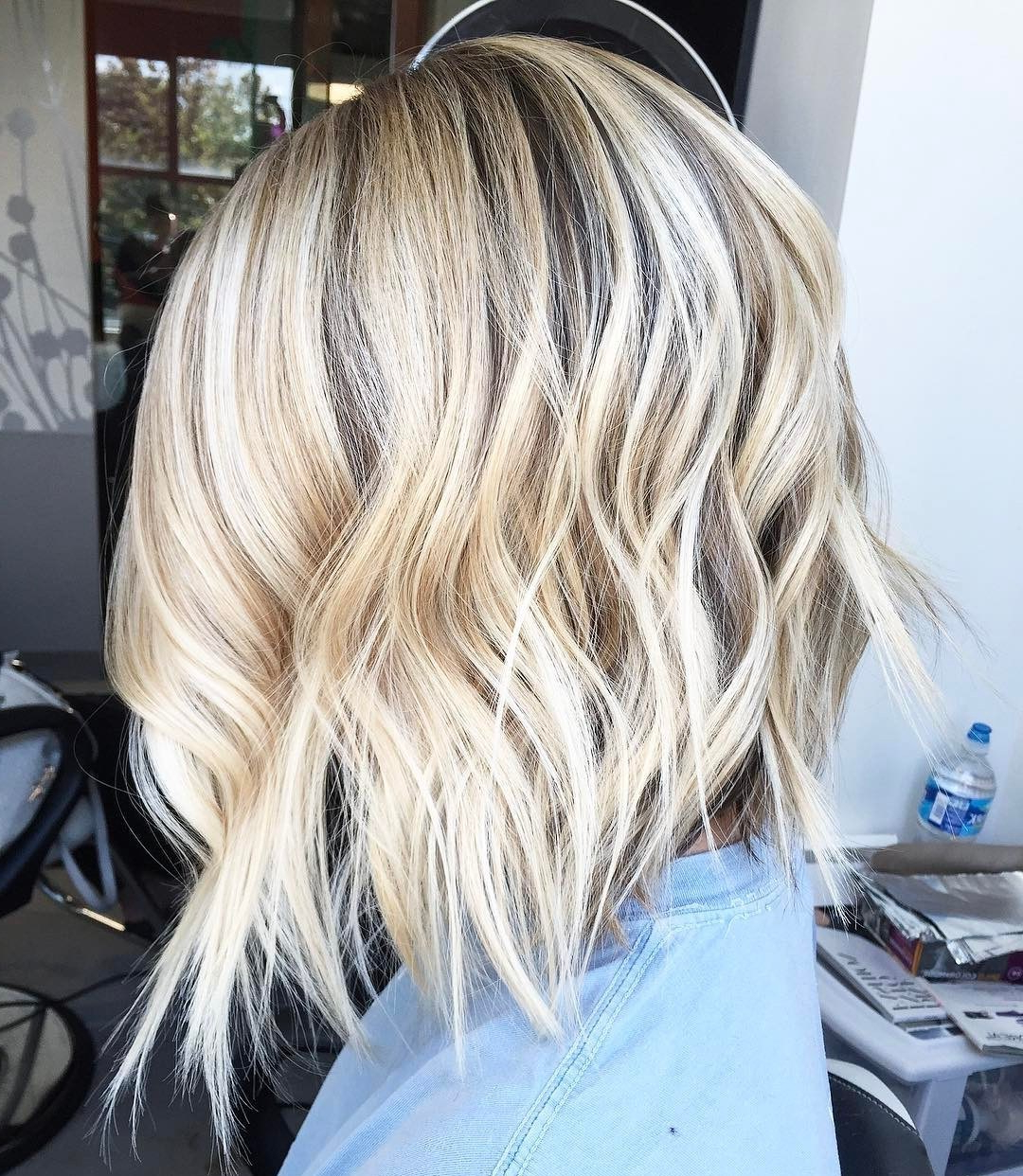 50 Bob Hairstyles For Fine Hair That Really Look Fuller With Most Recent Choppy Bright Blonde Bob Hairstyles (View 11 of 20)
