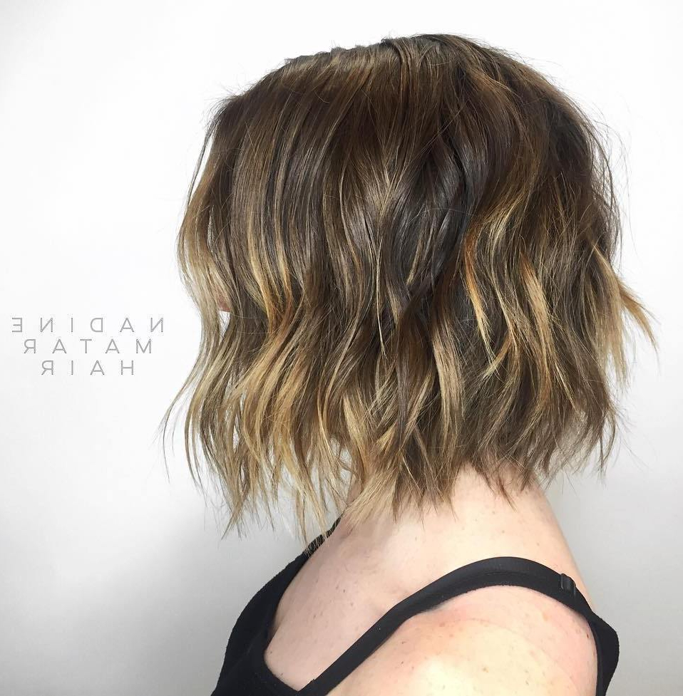 50 Choppy Bobs Too Damn Good Not To Copy – Hair Adviser With Regard To Steeply Angled Razored Asymmetrical Bob Hairstyles (View 5 of 20)