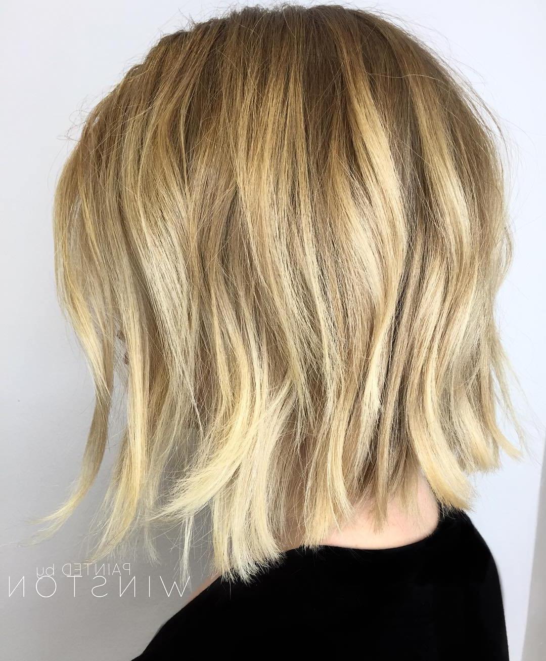 50 Choppy Bobs Too Damn Good Not To Copy – Hair Adviser With Regard To Voluminous Short Choppy Blonde Bob Hairstyles (View 9 of 20)