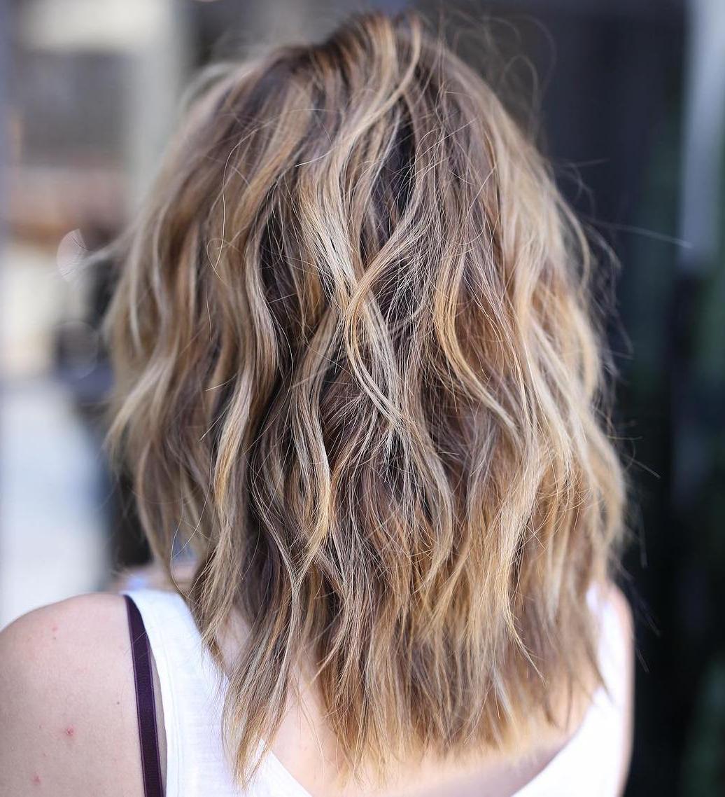 50 Fabulous Medium Length Layered Hairstyles – Hair Adviser Regarding Shoulder Length Choppy Hairstyles (View 8 of 20)