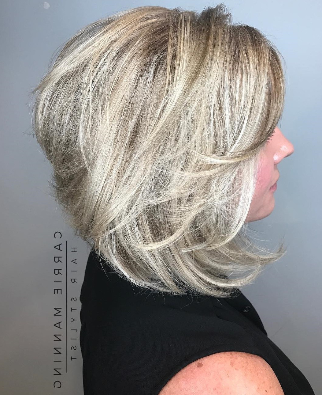 50 Fabulous Medium Length Layered Hairstyles – Hair Adviser Within Golden Bronde Bob Hairstyles With Piecey Layers (View 13 of 20)