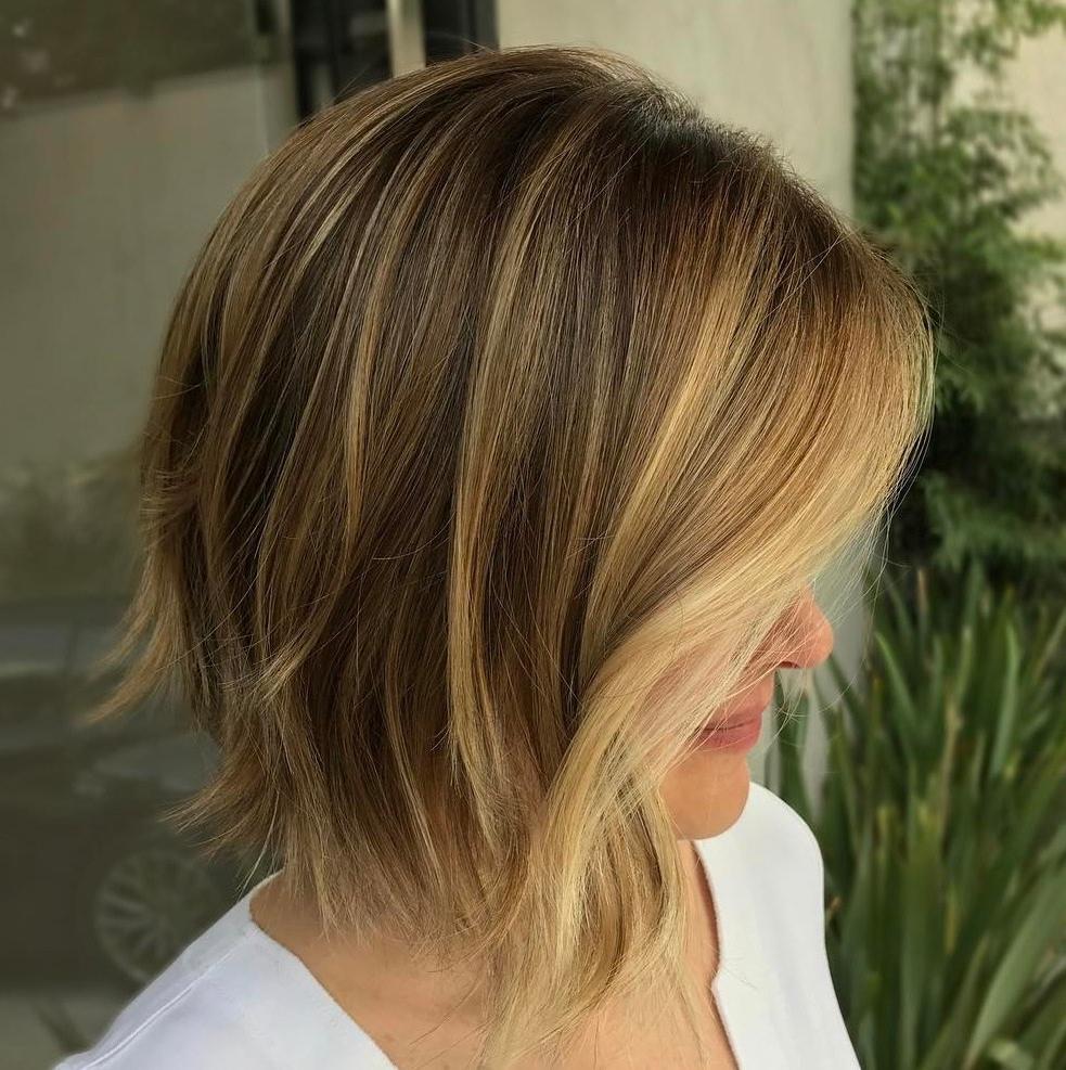 50 Gorgeous A Line Bob Haircuts To Beat Hair Boredom – Hair In Chin Length Chocolate Bob Shag Haircuts (View 8 of 20)