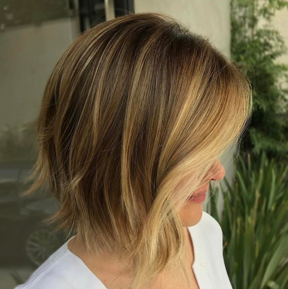 50 Gorgeous A Line Bob Haircuts To Beat Hair Boredom – Hair With Favorite Pretty Shaggy Brunette Bob Hairstyles (View 9 of 20)
