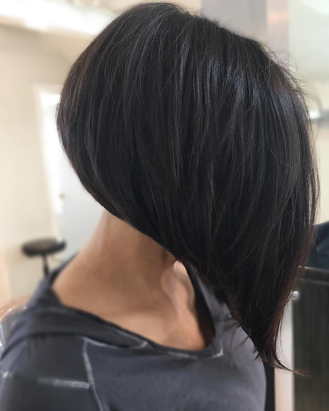 50 Gorgeous A Line Bob Haircuts To Beat Hair Boredom – Hair Within A Line Bob Hairstyles With Arched Bangs (View 13 of 20)