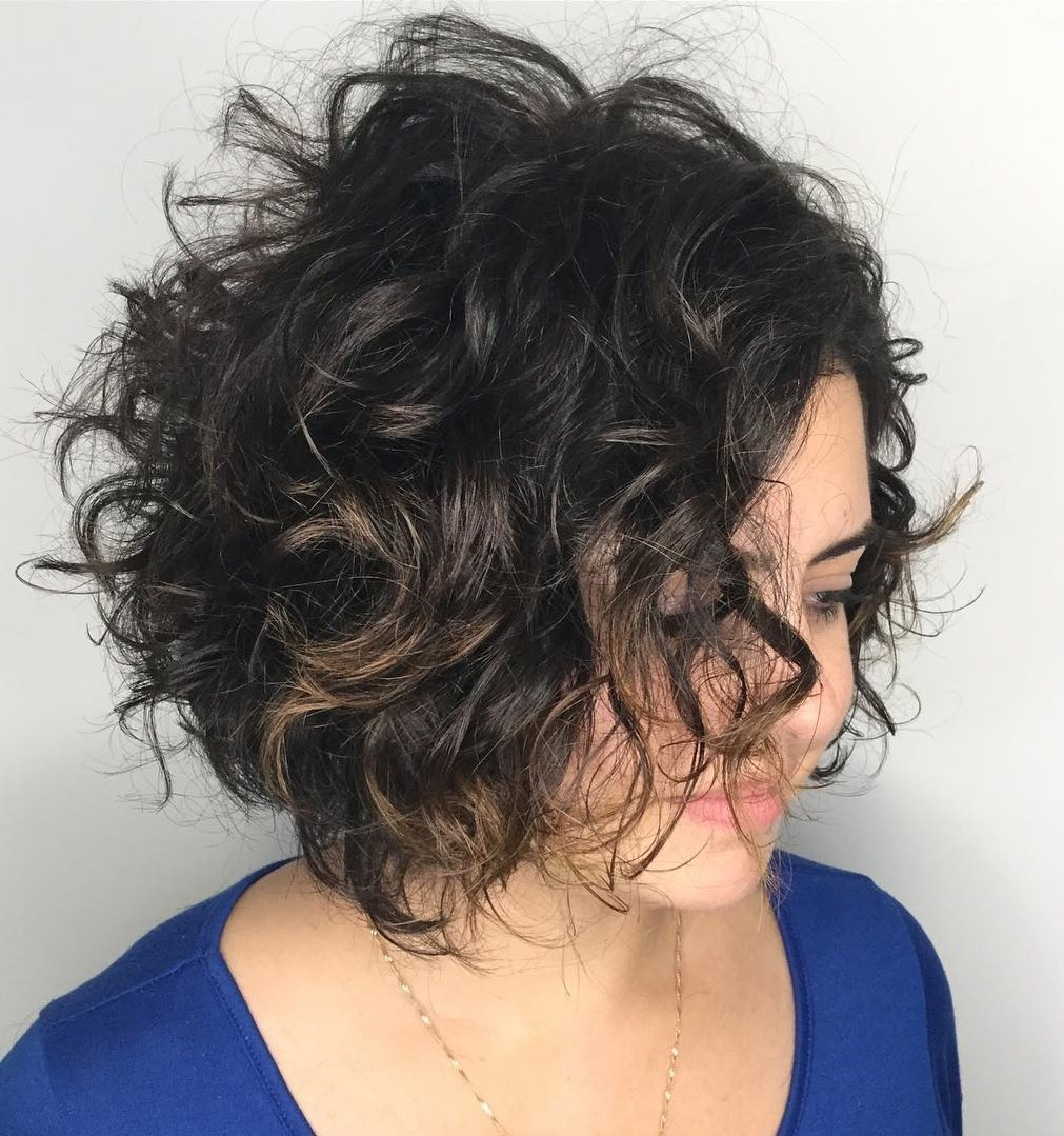50 Hairstyles For Thick Wavy Hair You Will Adore – Hair Pertaining To Razored Two Layer Bob Hairstyles For Thick Hair (View 10 of 20)