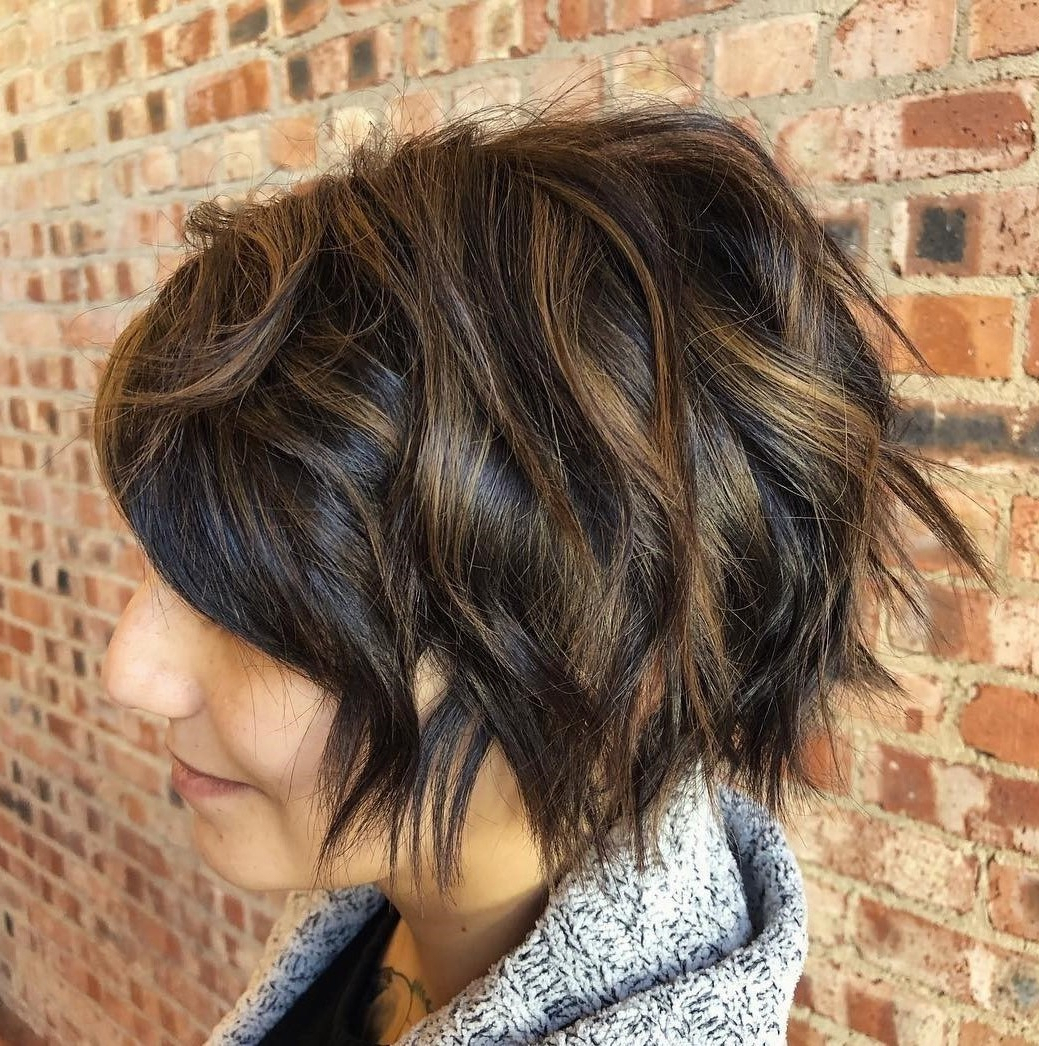 50 Hairstyles For Thick Wavy Hair You Will Adore – Hair Regarding Razored Two Layer Bob Hairstyles For Thick Hair (View 13 of 20)