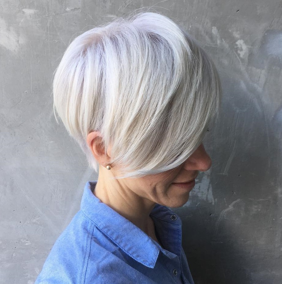 50 Hottest Pixie Cut Hairstyles In 2019 Pertaining To Gray Pixie Haircuts With Messy Crown (View 12 of 20)