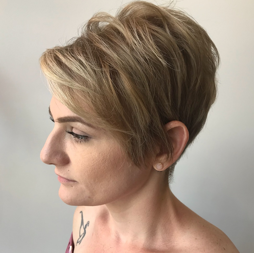 50 Hottest Pixie Cut Hairstyles In 2019 With Long Pixie Haircuts With Angled Layers (View 11 of 20)