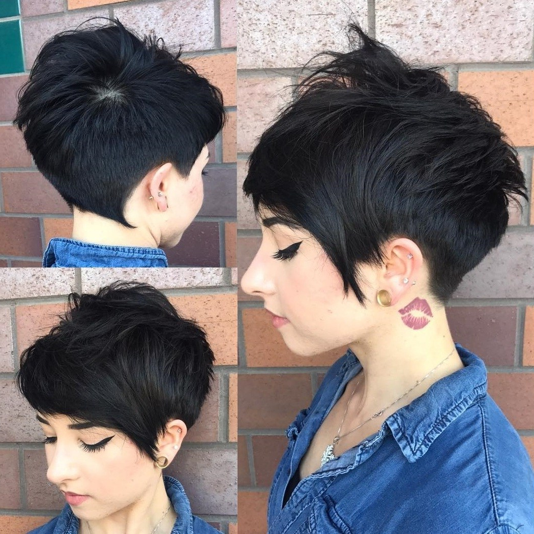 50 Images To Choose A Cool Choppy Pixie Haircut – Hair Pertaining To Pixie Haircuts With Tapered Sideburns (View 18 of 20)