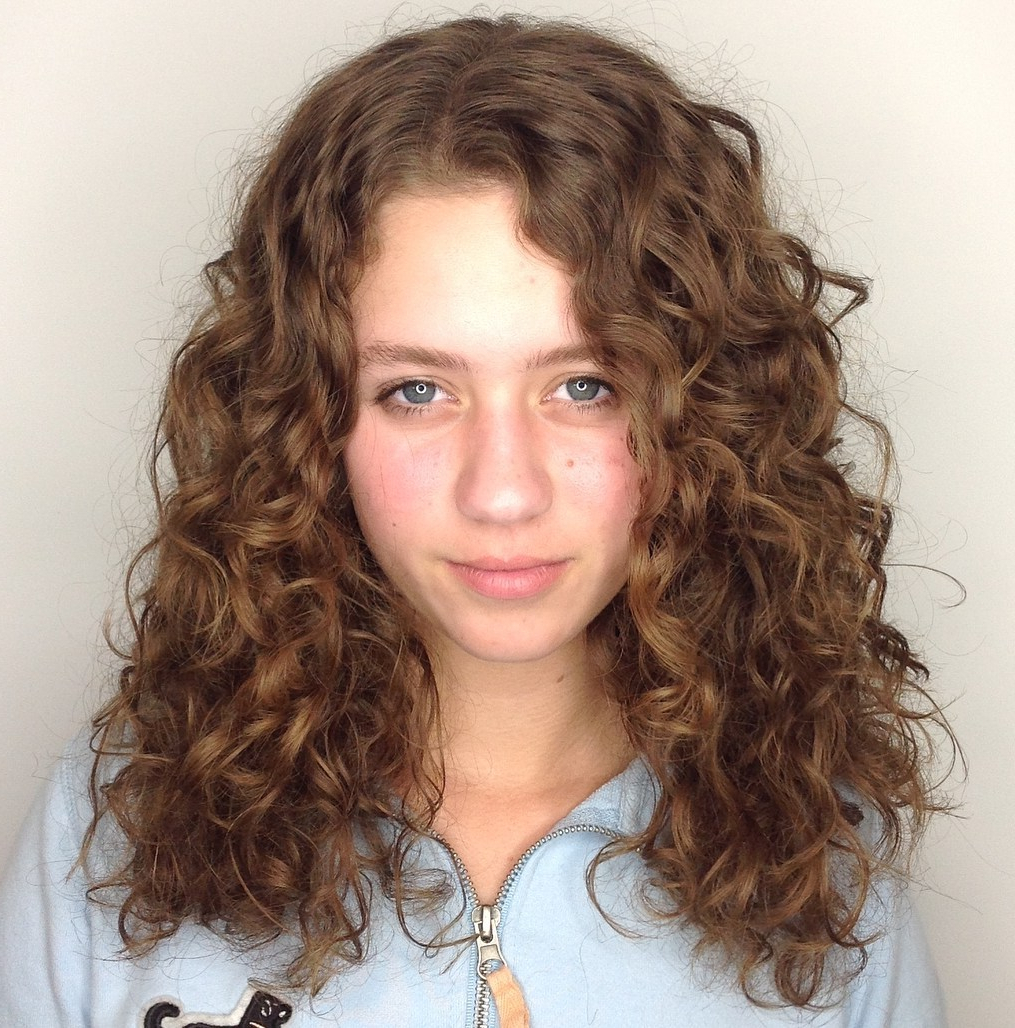 50 Impressive Hairstyles For Naturally Curly Hair – Hair Inside Newest Loose Shaggy Curls Hairstyles (View 11 of 20)