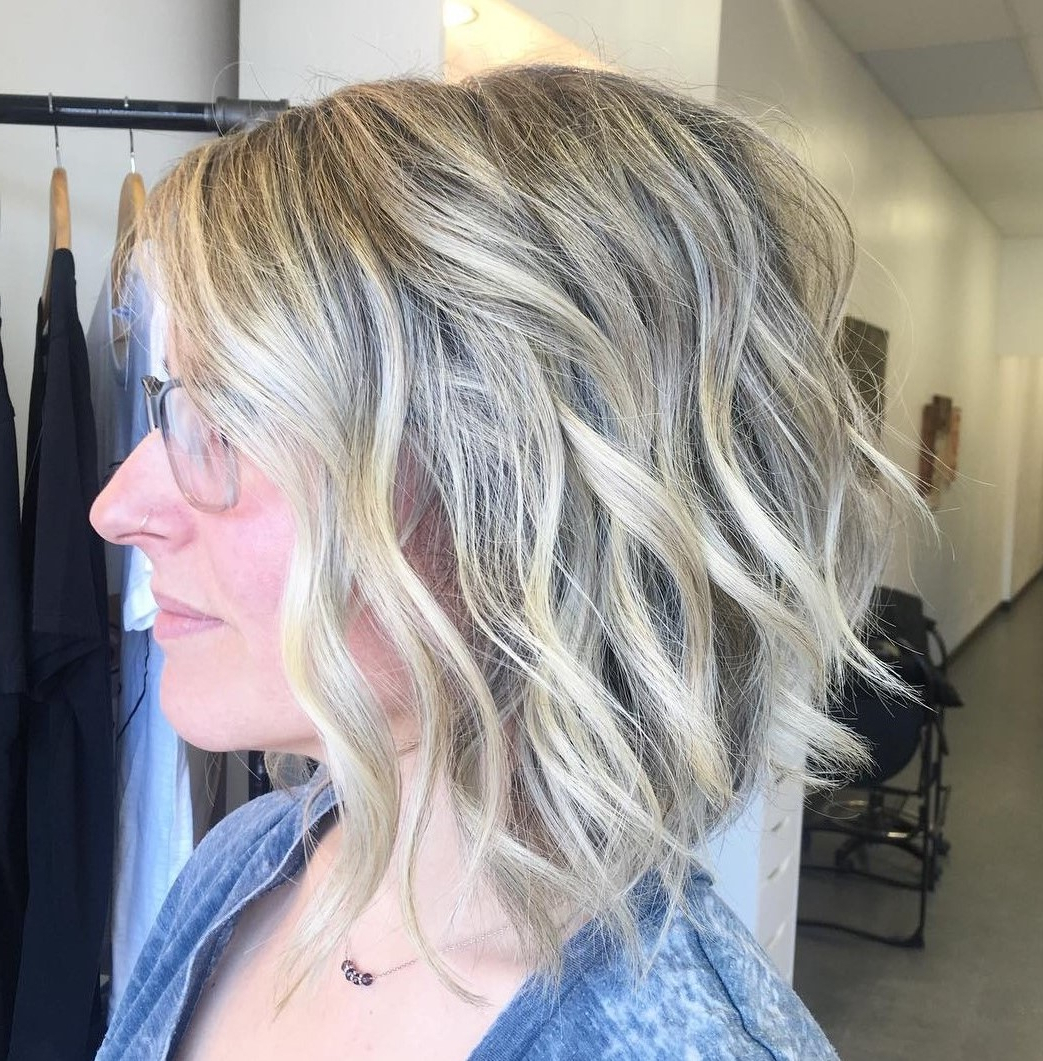 50 Messy Bob Hairstyles For Your Trendy Casual Looks Intended For Slightly Angled Messy Bob Hairstyles (View 8 of 20)