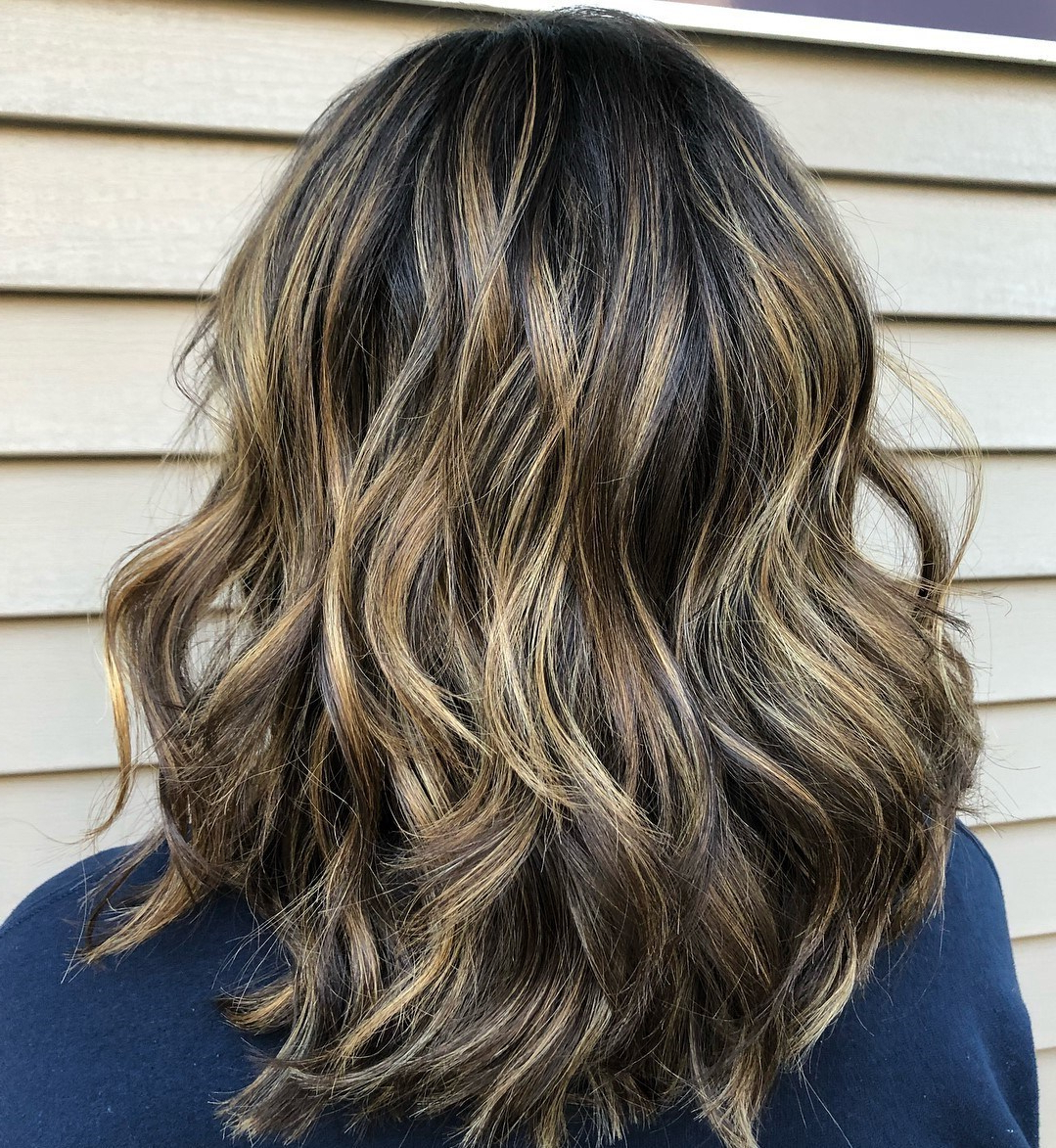 50 Most Flattering Hairstyles For Thick Hair – Hair Adviser For Most Popular Dynamic Feathered Brunette Shag Haircuts (View 6 of 20)