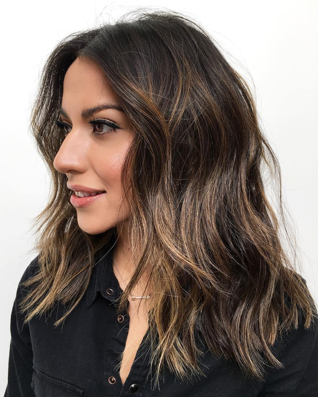 50 Most Flattering Hairstyles For Thick Hair – Hair Adviser With Regard To Well Liked Ash Brown Long Razored Shag Haircuts (View 7 of 20)