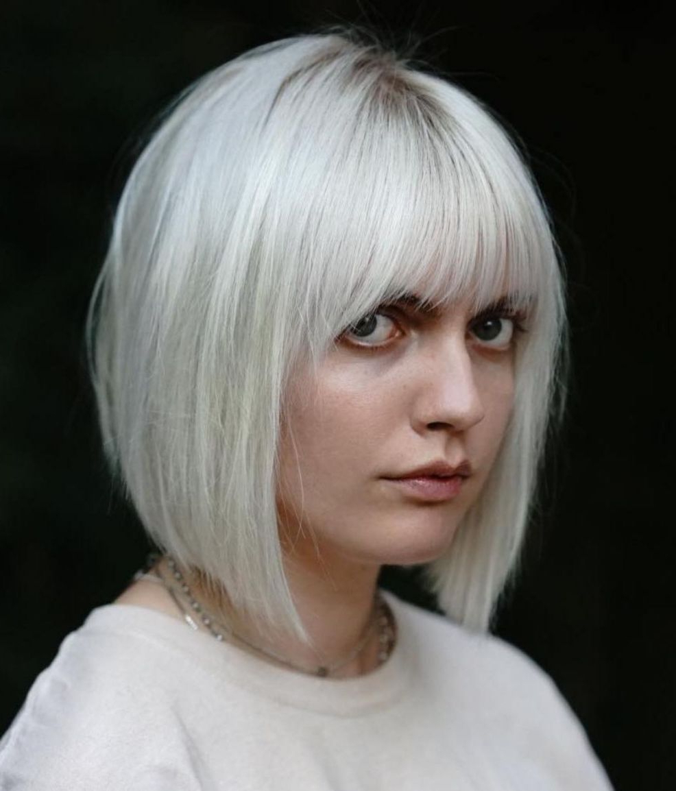Featured Photo of A Line Bob Hairstyles With Arched Bangs