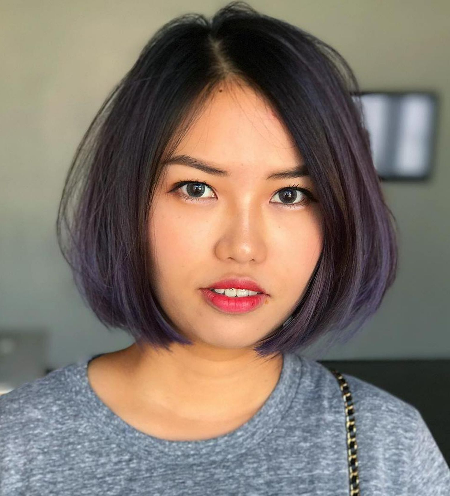 Featured Photo of A Line Haircuts For A Round Face