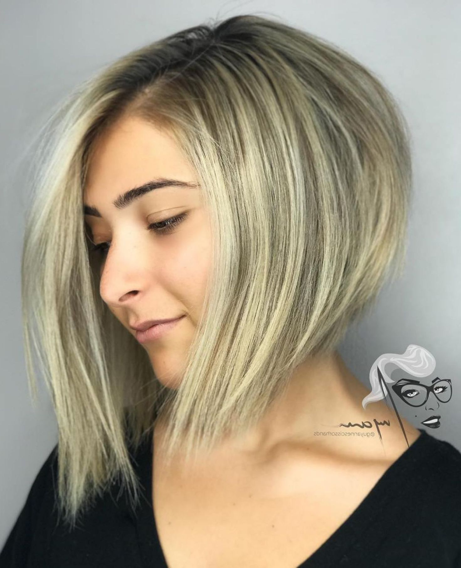 50 Super Cute Looks With Short Hairstyles For Round Faces Within Asymmetrical Shaggy Bob Hairstyles (View 8 of 20)