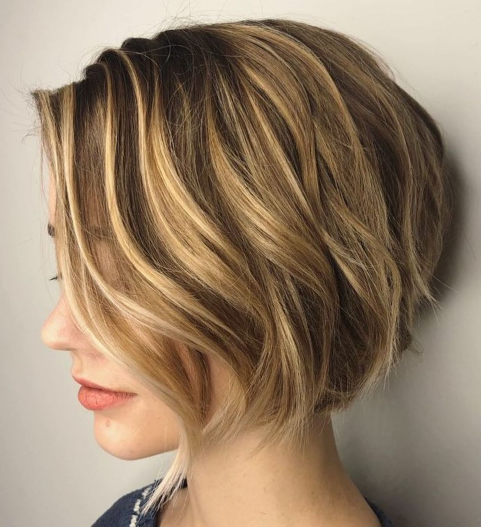 60 Best Short Bob Haircuts And Hairstyles For Women In 2019 Pertaining To Short Chocolate Bob Hairstyles With Feathered Layers (View 4 of 20)