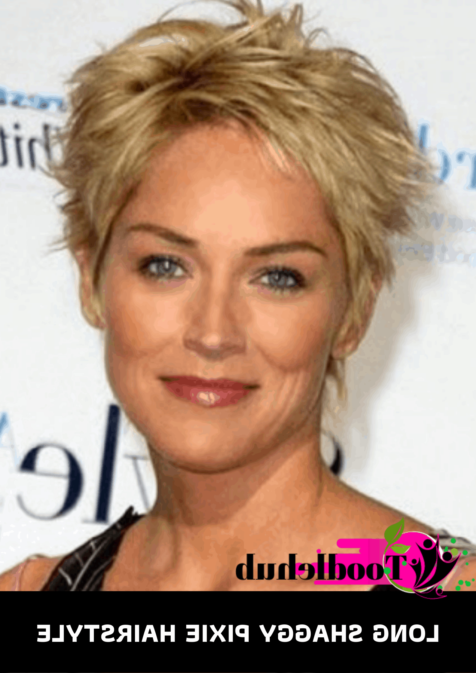 60 Best Short Hairstyles For Women Over 50 In 2019 – Ove 50 Intended For Straight Long Shaggy Pixie Haircuts (View 13 of 20)