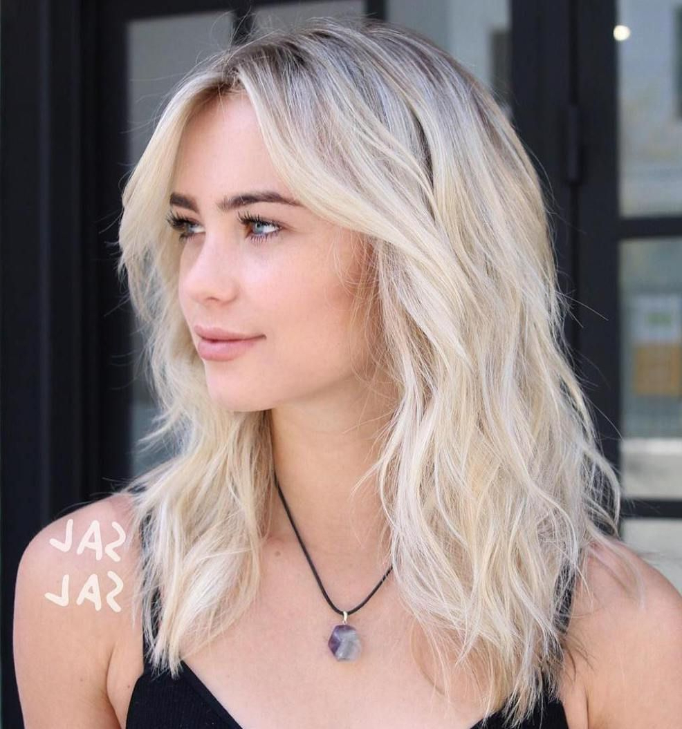 60 Best Variations Of A Medium Shag Haircut For Your Pertaining To Most Popular Pretty Wavy Blonde Shag Haircuts (View 5 of 20)