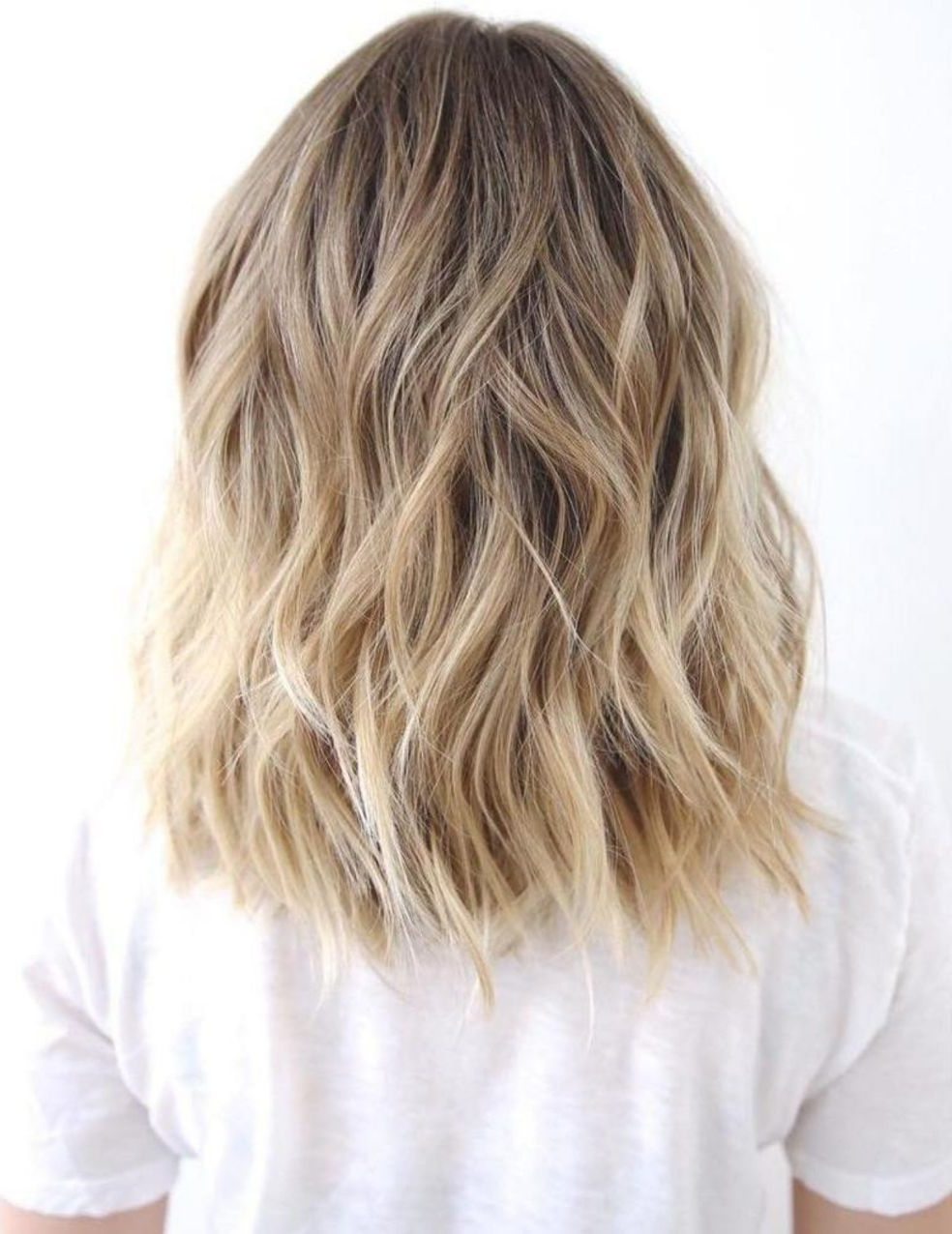 60 Best Variations Of A Medium Shag Haircut For Your Pertaining To Widely Used Pretty Wavy Blonde Shag Haircuts (View 6 of 20)