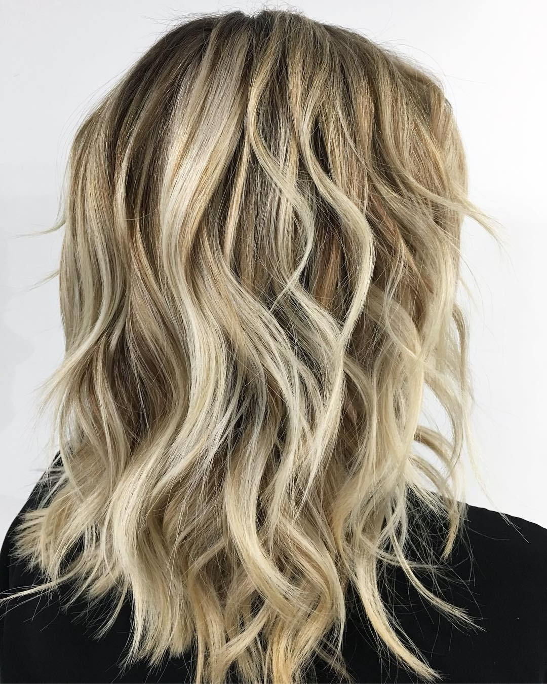 60 Best Variations Of A Medium Shag Haircut For Your With Fashionable Disconnected Brown Shag Long Hairstyles With Highlights (View 4 of 20)
