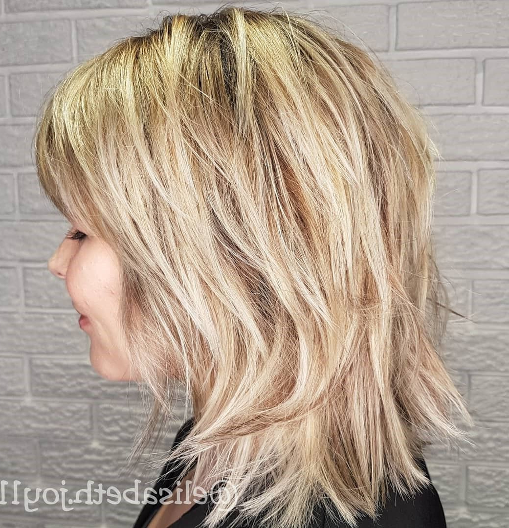 60 Best Variations Of A Medium Shag Haircut For Your With Most Current Shag Haircuts With Blunt Ends And Angled Layers (Gallery 1 of 20)
