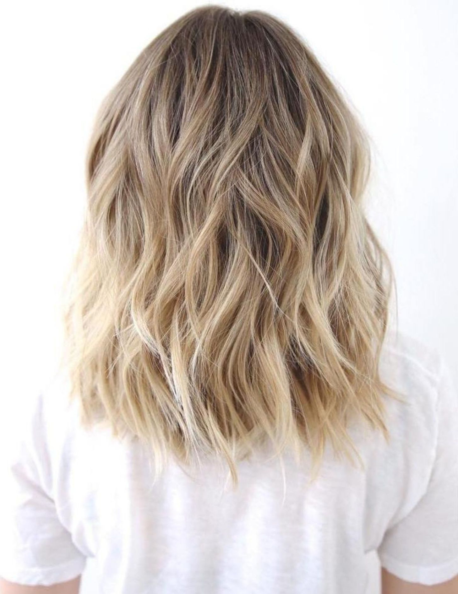 60 Best Variations Of A Medium Shag Haircut For Your With Regard To Newest Beach Blonde Medium Shag Haircuts (View 1 of 20)