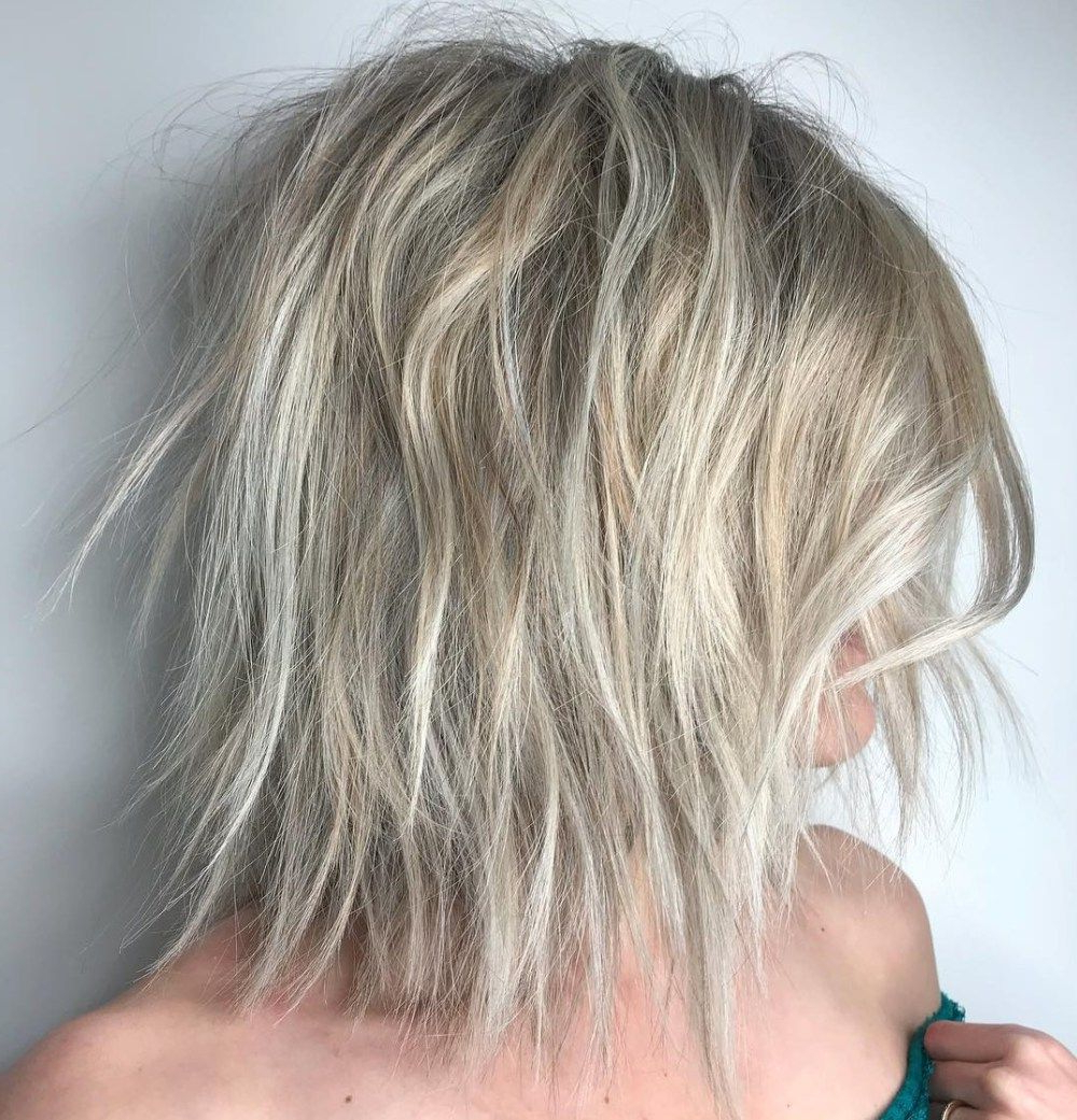 60 Best Variations Of A Medium Shag Haircut For Your Within Long Razored Shag Haircuts With Balayage (View 12 of 20)