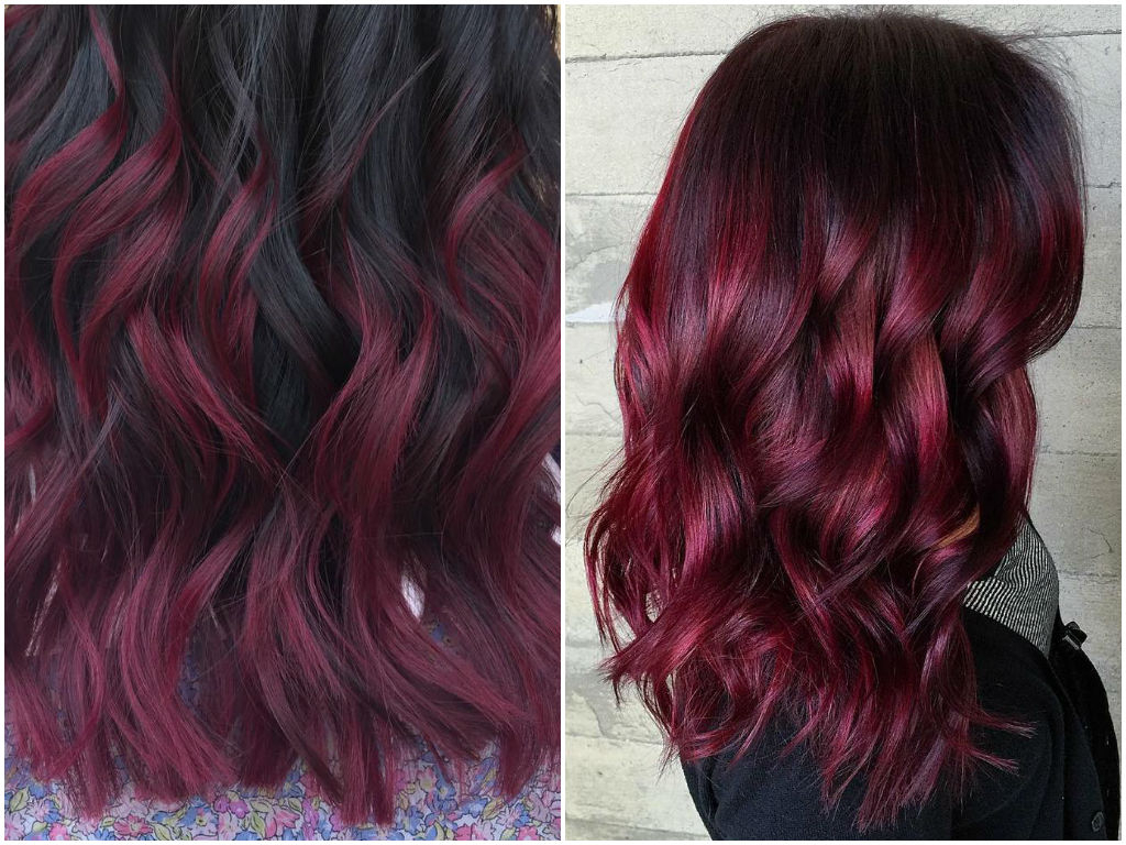 60 Burgundy Hair Color Ideas | Maroon, Deep, Purple, Plum Pertaining To Vibrant Burgundy Shag Haircuts (View 8 of 20)