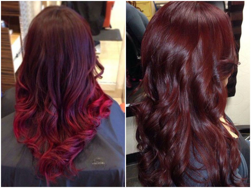 60 Burgundy Hair Color Ideas | Maroon, Deep, Purple, Plum Regarding Vibrant Burgundy Shag Haircuts (View 9 of 20)