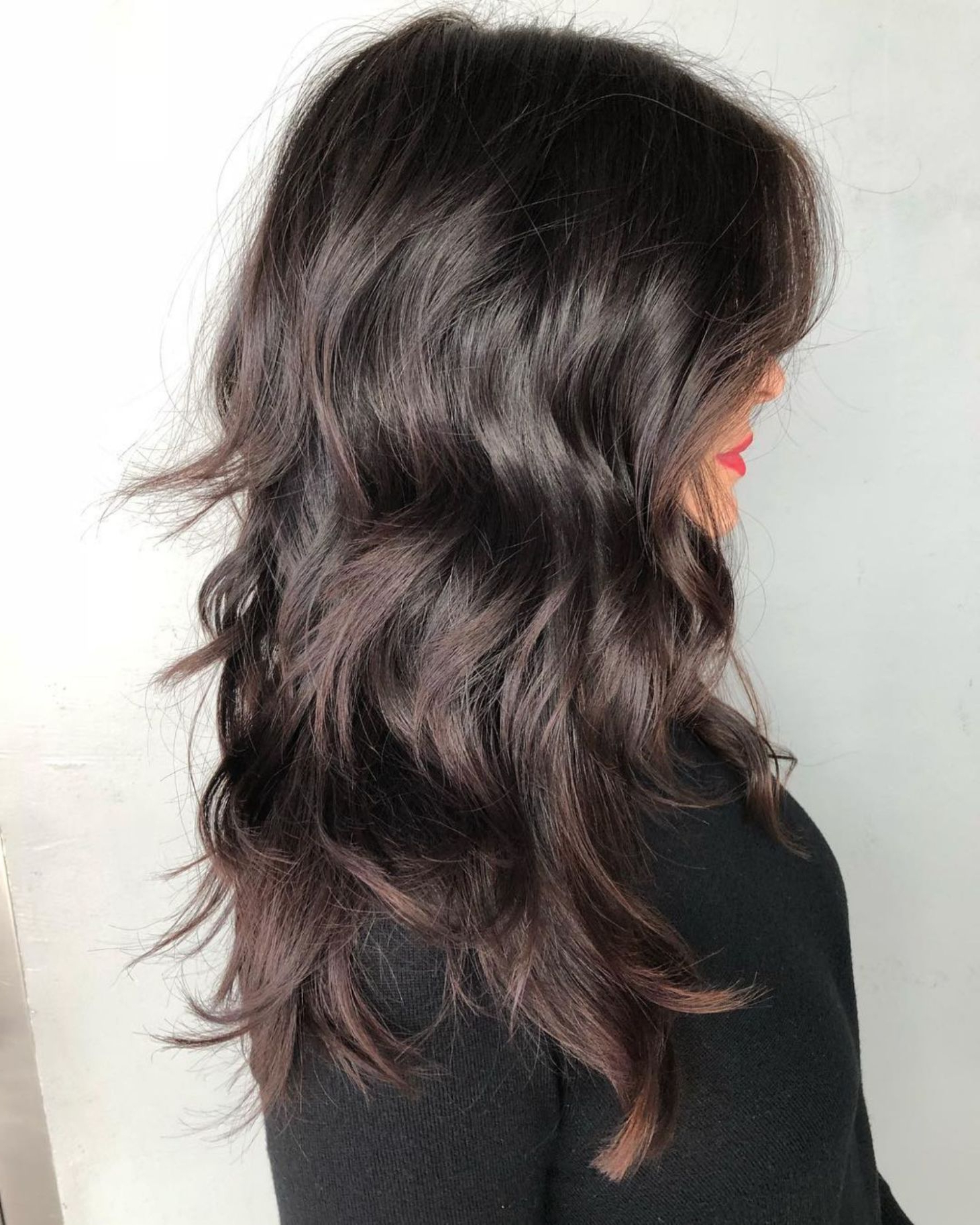 60 Lovely Long Shag Haircuts For Effortless Stylish Looks In Pertaining To Most Recent Frizzy Choppy Long Shag Hairstyles (View 6 of 20)